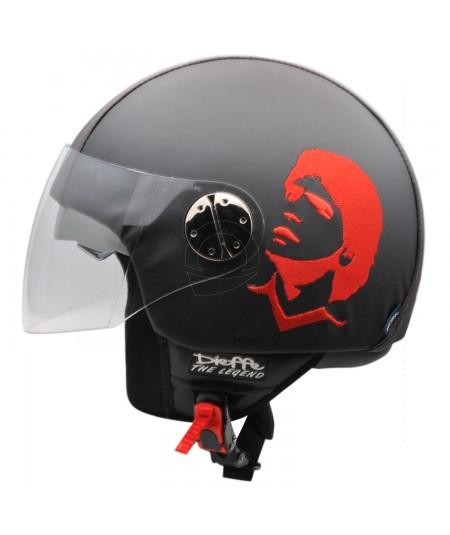 Casco Maradona stilizzato