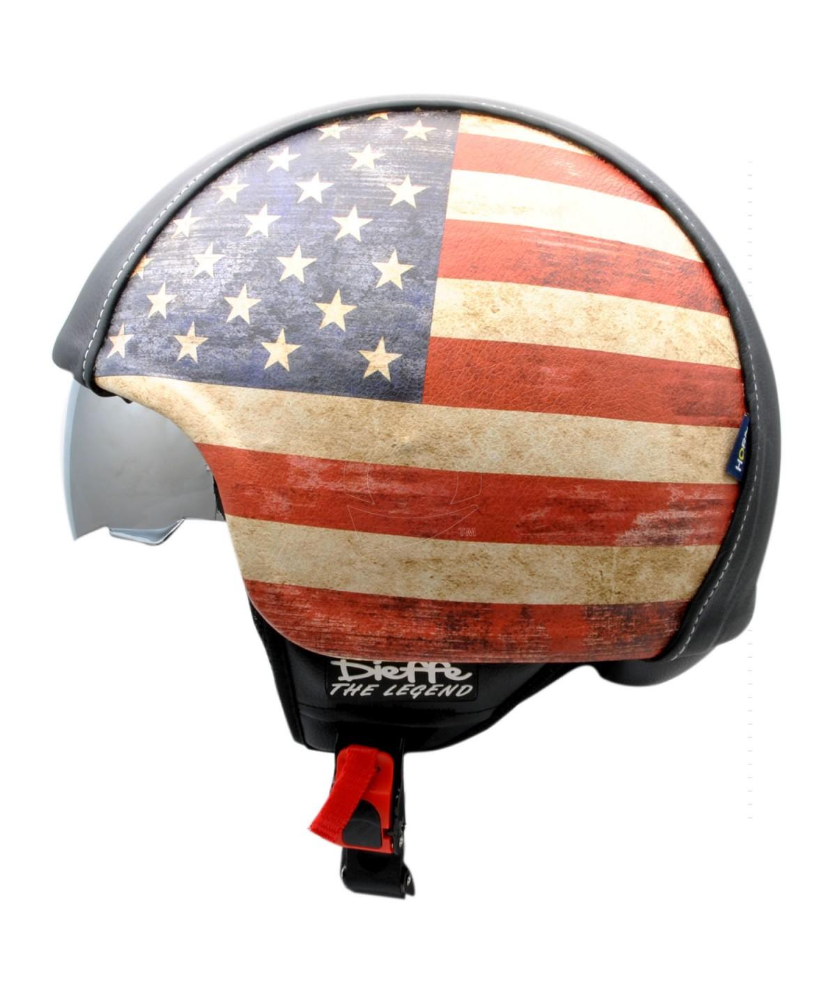casco bandiera americana