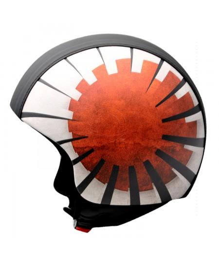 casco bandiera Giapponese