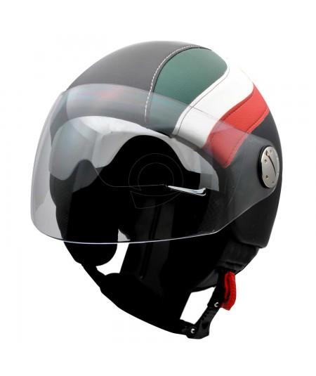 Casco tricolore Italia